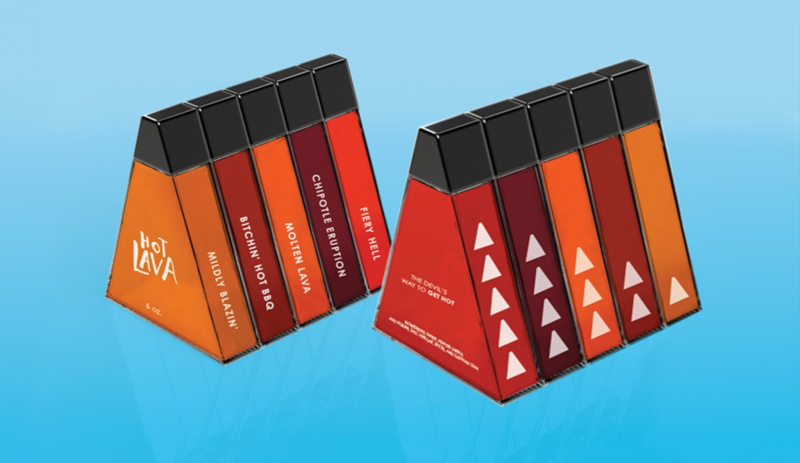 Hot Lava Spice Packaging Designed By Erica Buki