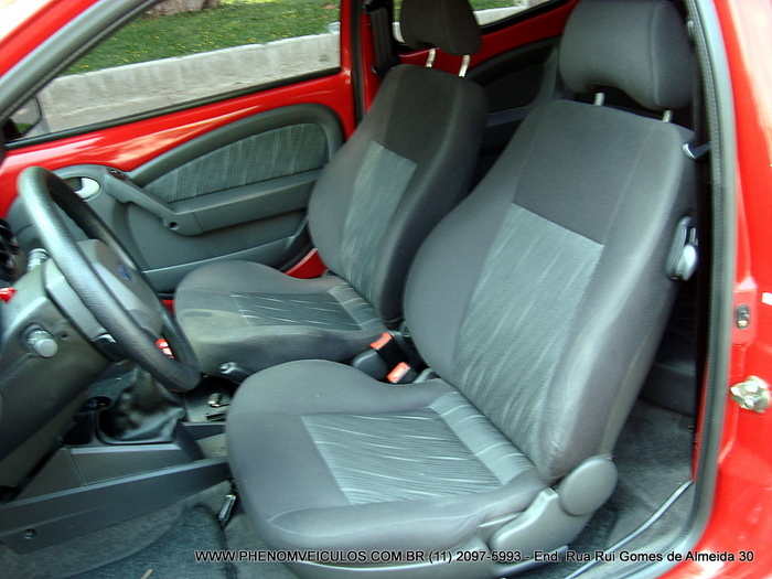 Ford Ka 2009 1.6 flex - interior - bancos