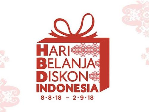 Hari Belanja Diskon Indonesia 2018