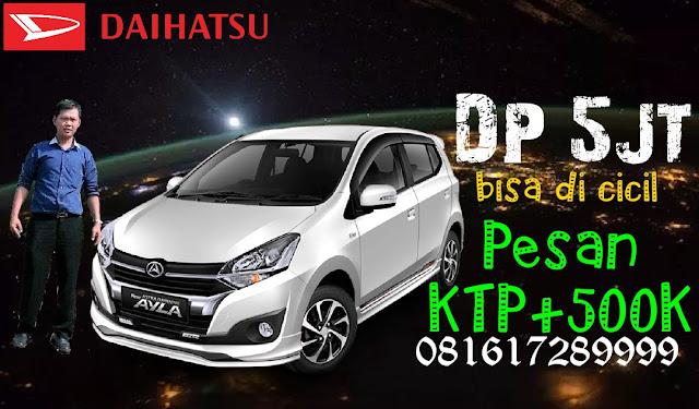 Promo Daihatsu Ayla Akhir Tahun Dp 5juta