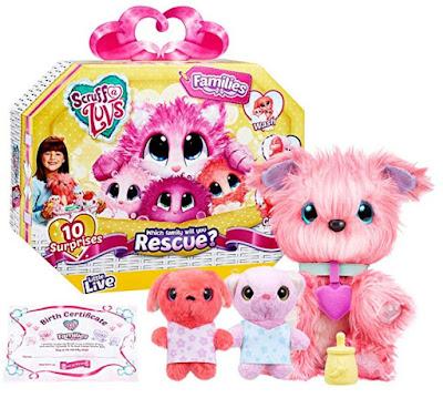 Какие игрушки в наборе Scruff-A-Luvs Family Pack