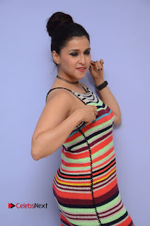 Actress Mannara Chopra Latest Pictures at Jakkanna Movie Platinum Disc Function 0009.JPG
