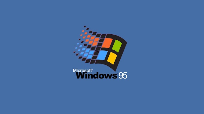 Vintage Microsoft Windows 95