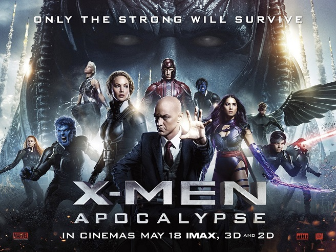 Movie X-Men: Apocalypse (2016)