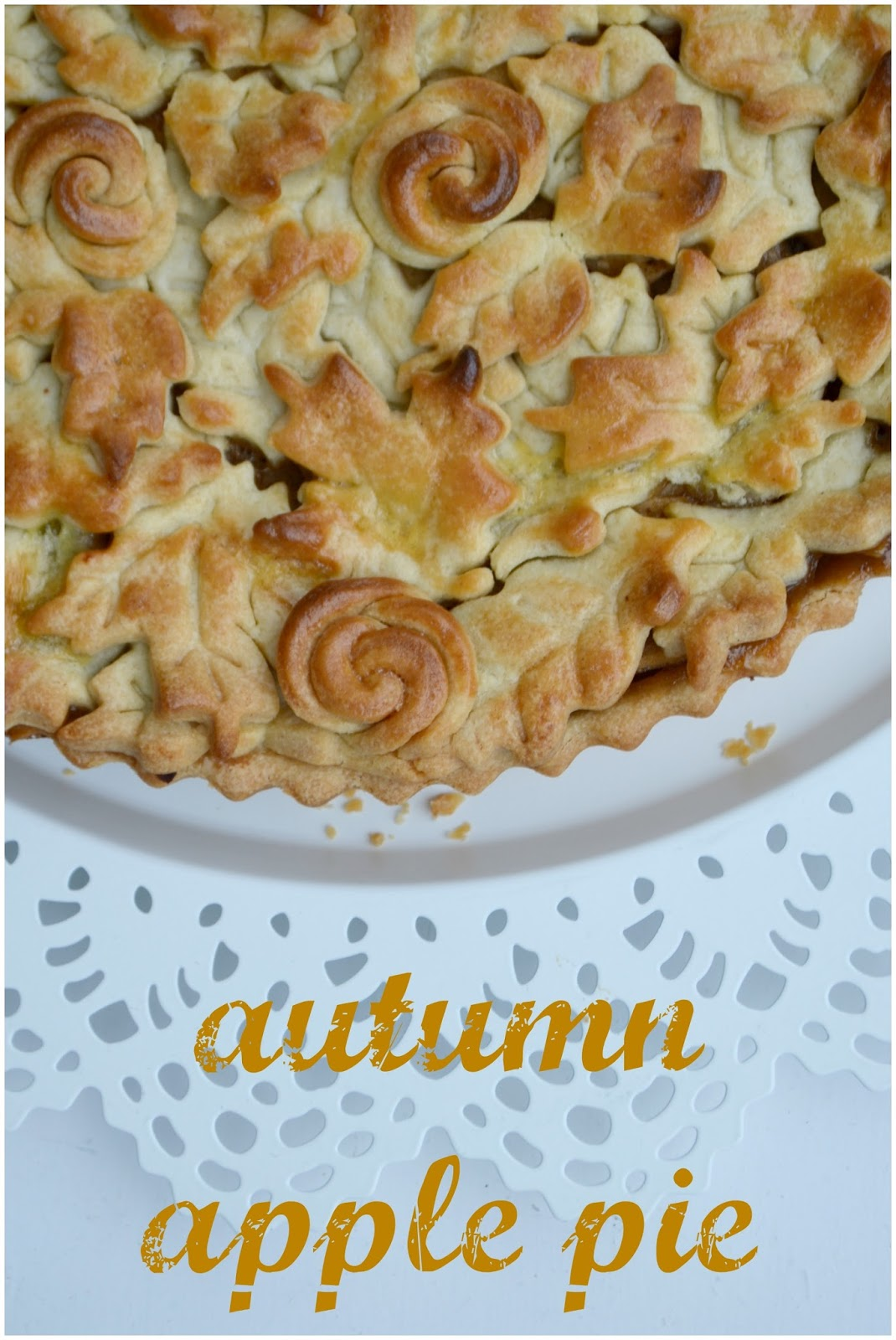 Procrastibake: Autumn Apple Pie