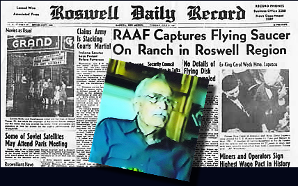 The Roswell UFO Crash and Reporter, Jason Kellahin