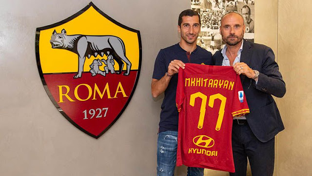 Mkhitaryan stressed that joining AS Roma was not a setback