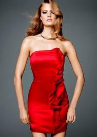 Red Rose Dress H&M Glamour Collection