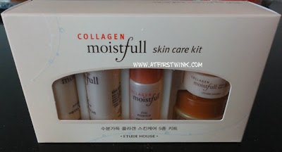 Etude House Collagen Moistfull skin care kit