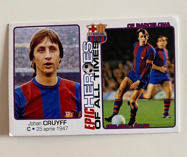 figurina Cruyff Barcelona