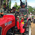 2 Unit Traktor Mengiringi Kunjungan kerja Stafter Korem 071/Wijaya kusuma