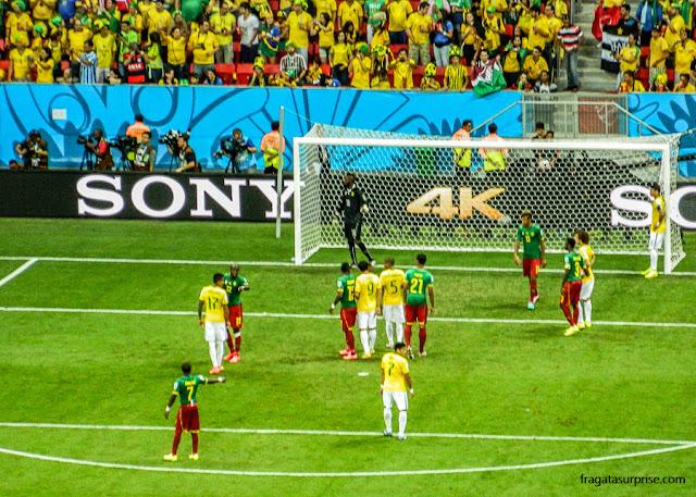Jogo Brasil x Camarões, Copa 2014 em Brasília