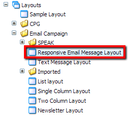 Sitecore Responsive Email Layout