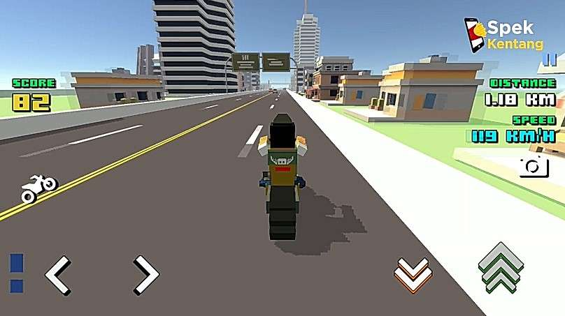 Blocky Moto Racing