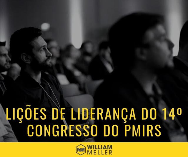 Lições de liderança do 14º Congresso de Gerenciamento de Projetos do PMIRS