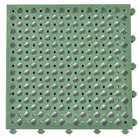 Greatmats custom anti fatigue flooring tiles perforated Safety Matta