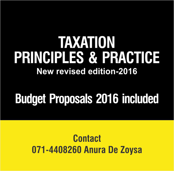 Taxation - Principles & Practice | New revised edition 2016