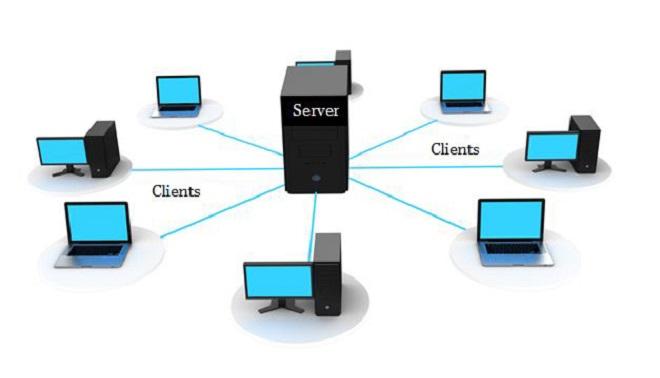 Gambar Jaringan client/server