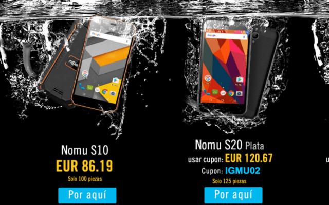Los Mejores Smartphones Nomu están en oferta en iGoGo