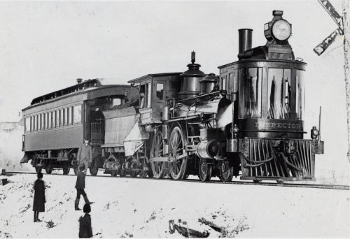 Chicago and West Michigan inspection train
