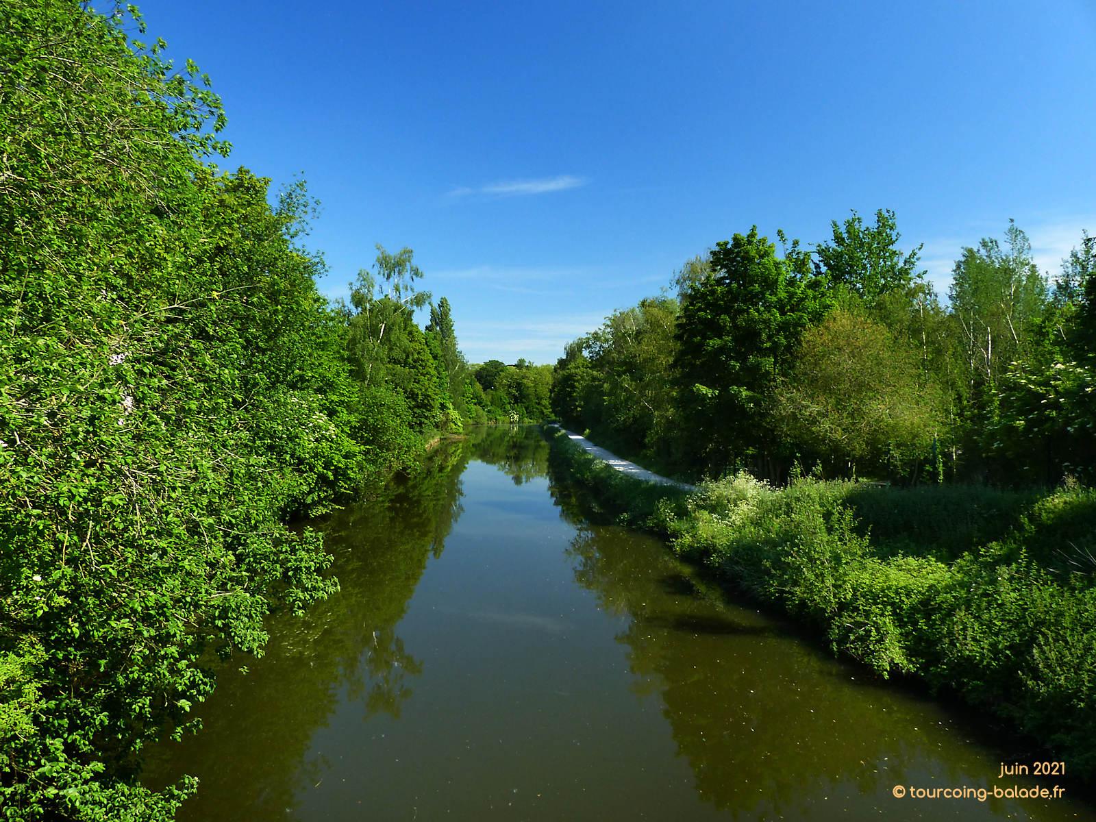 Rivière de la Marque, Marcq-en-Baroeul, 2021