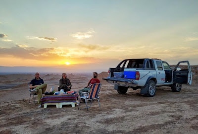The opportunity to trek to a desert, for most people, is a once-in-a-lifetime opportunity. It's hard to describe the feeling of approaching a desert to someone who has never seen one before