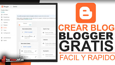 Como Crear un Blog en Blogger Gratis - Tutorial Blogger