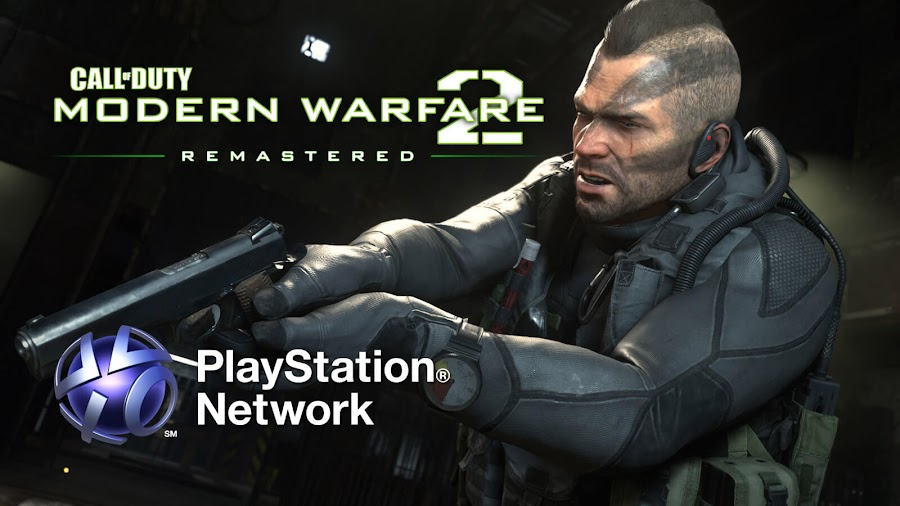 call of duty modern warfare 2 campaign remastered leaked playstation network infinity ward activision playstation 4 Beenox