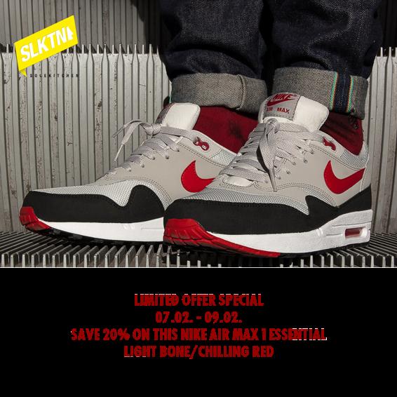 hot sale online 932fb dbc3c ... essential chilling red Diesen stylischen Nike Air Max 1 bekommt ihr ab  heute bis einschließlich Sonntag bei uns im ...