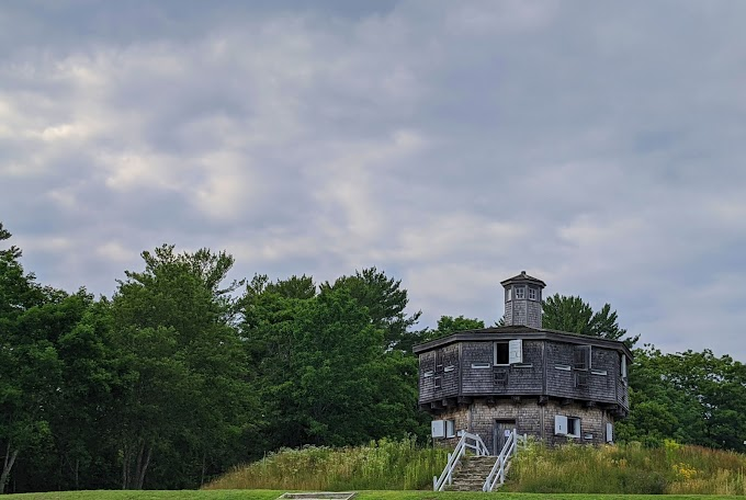 Fort Edgecomb in Maine