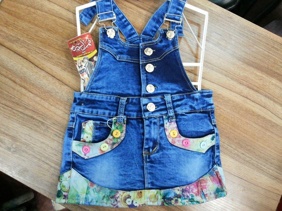 07f98b0d9919d قمرايه للملابس الجاهزه  سلوبت بناتي جيبه جينز كود 11003