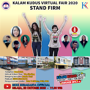 "Kalam Kudus Virtual Fair ""Stand Firm"" - 20 Oktober 2020"