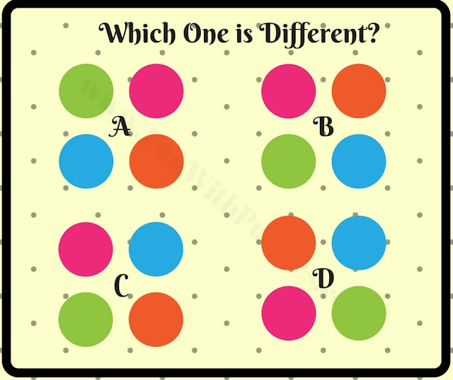 Fun brain teaser to find different