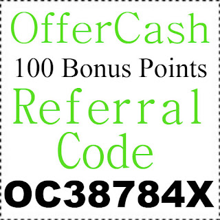 Get 100 Bonus Points Offercash App Referral Code, Invite Code & Sign Up Bonus