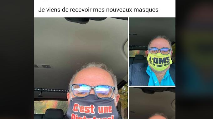 Les coucous se font faire des masques personnalisés!