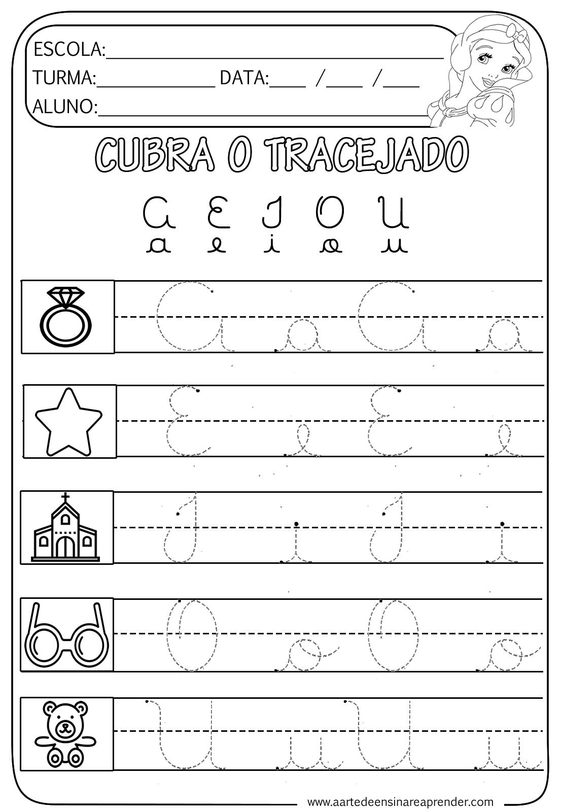 Vogais Cursivas