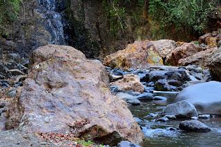 Waterfall Rocks at Rio Viejo, Puriscal