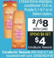 Cheap Garnier & L'Oreal Hair Care at CVS 6/13-6/19