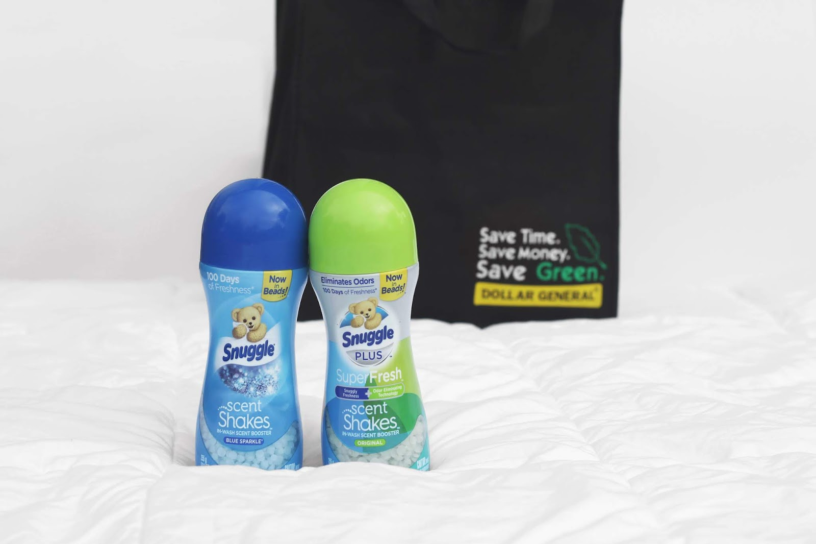 Snuggle Scent Shakes at Dollar General, Snuggle Laundry Products