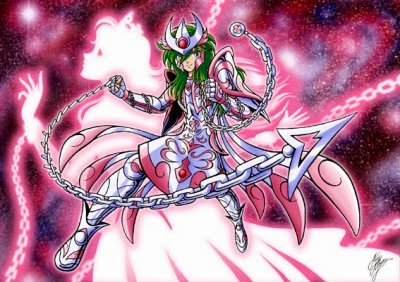 shun chevalier d'andromède saint seiya gold god andromeda chaine nebulaire nebula vierge poissons athena saori armure hades reincarnation corp protection defense spider constellation bronze legend of sanctuary sanctuaire poseidon divine dieu cosmos 7eme sens fragile feminin rose vert