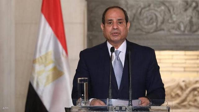 السيسي يؤكد على دعمه للمجلس الرئاسي الليبي