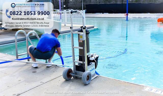 Jasa Treatment Air Kolam Renang Pekanbaru Terpercaya