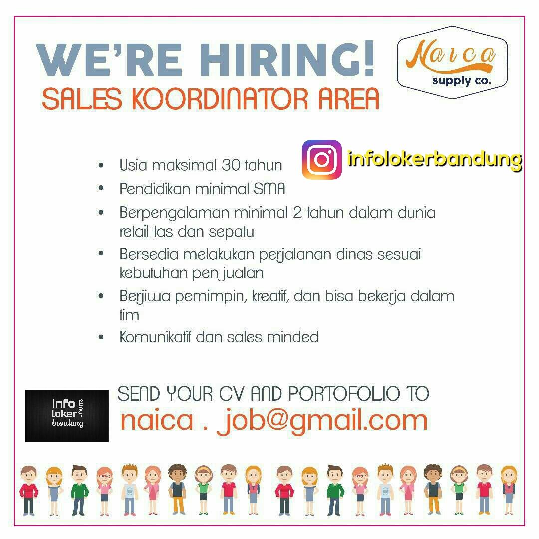 Lowongan Kerja Naica Supply Co Bandung Mei 2017