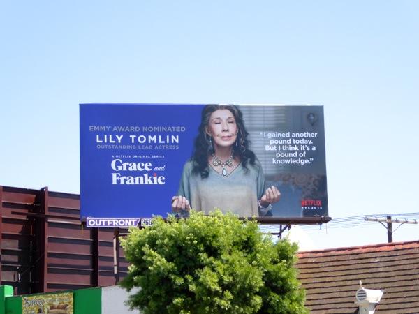 Lily Tomlin Grace and Frankie Emmy 2015 billboard