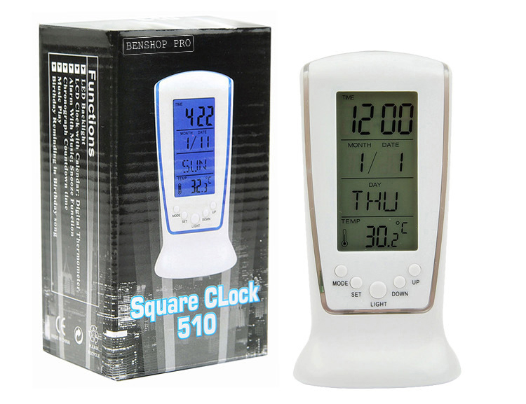 Square Clock DS-510