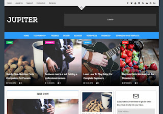 Top 5 SEO Optimized And Responsive Mobile Friendly Blogger Template For Blog