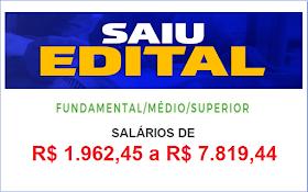 Aberto Concurso em SP para todos os níveis de escolaridade. Salários até R$7.819,44
