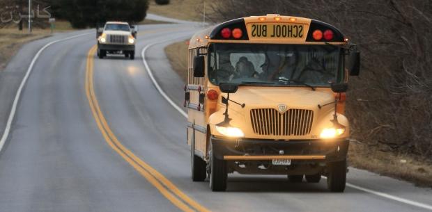 قصص مترجمة : المستوى الصعب : طفل يسرق حافلة