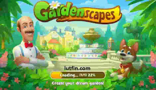 Cara download game gardenscapes