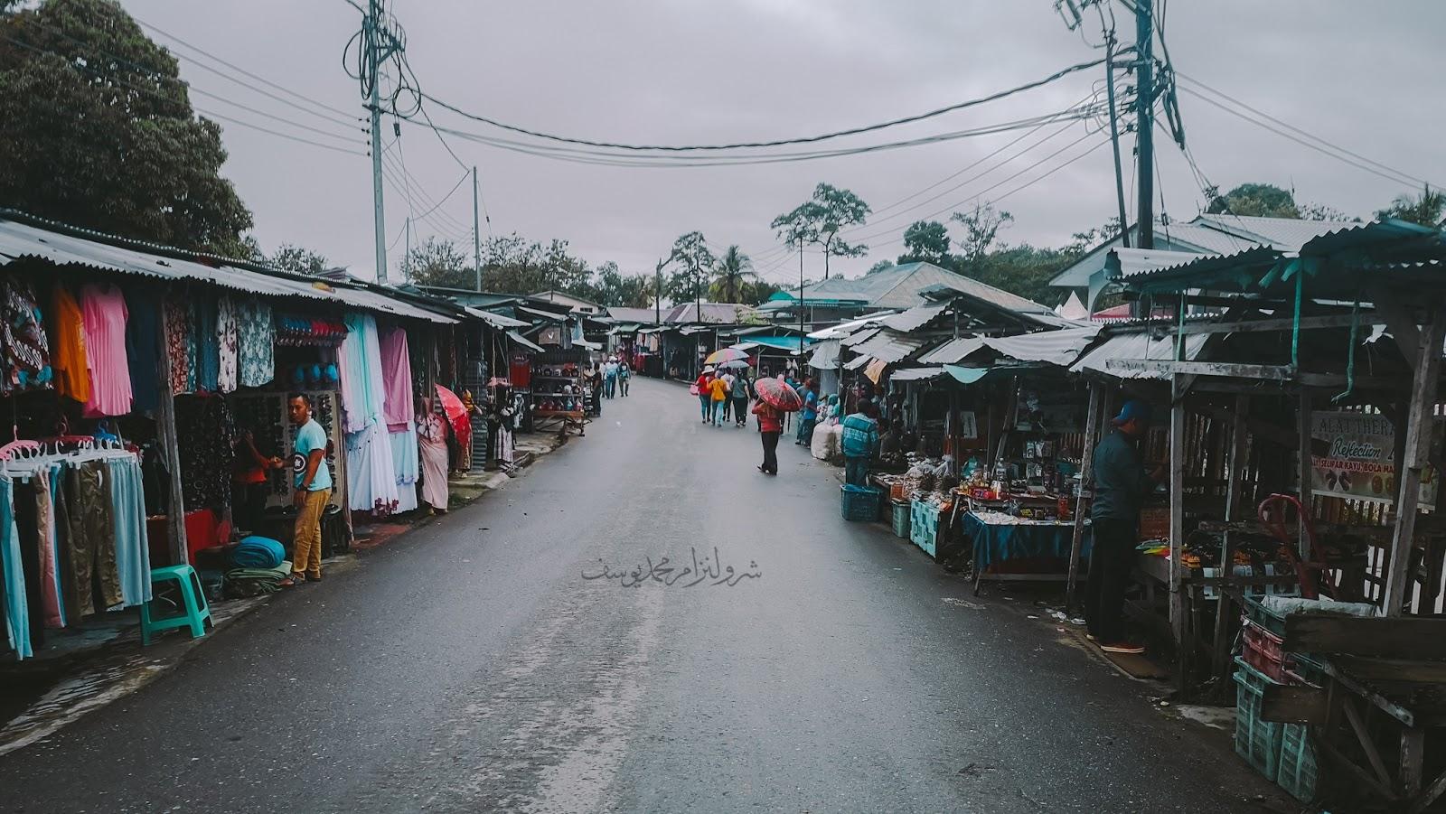 Pasar Serikin, Bau, Sarawak - 1